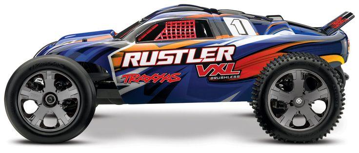 Traxxas - Rustler VXL (#37076) - Gallery   traxxas.com