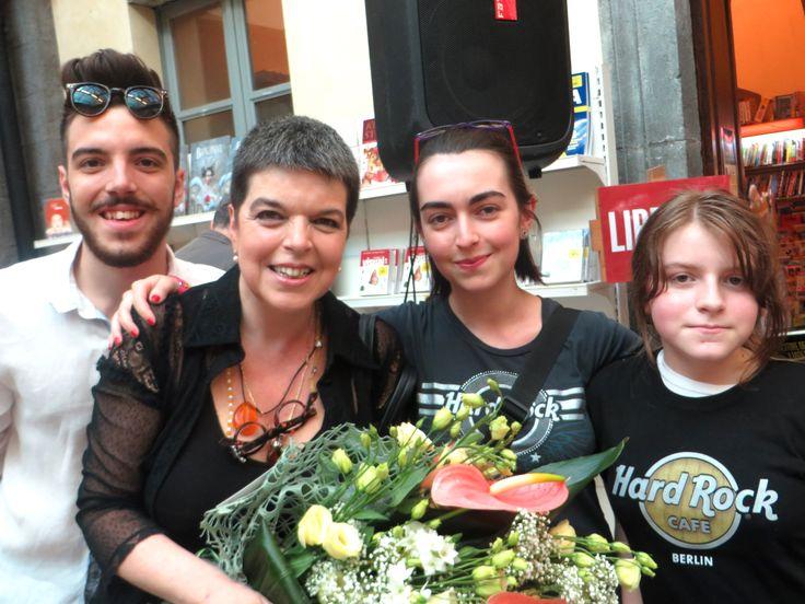 con Eraldo, Veronica e Germana