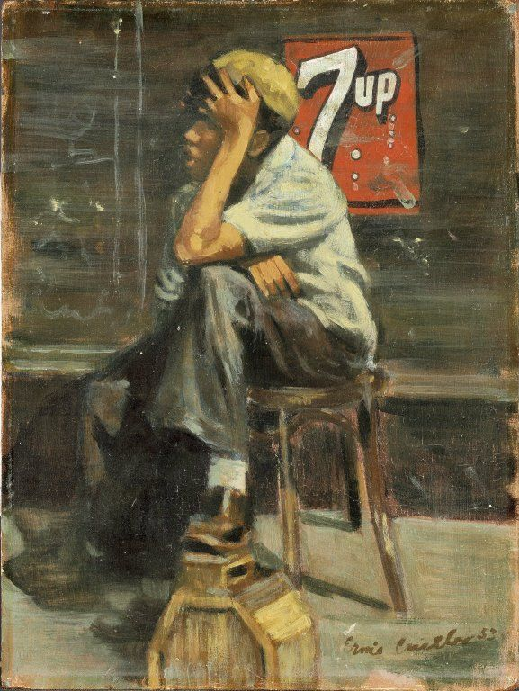 Shoe Shine by Ernest Crichlow