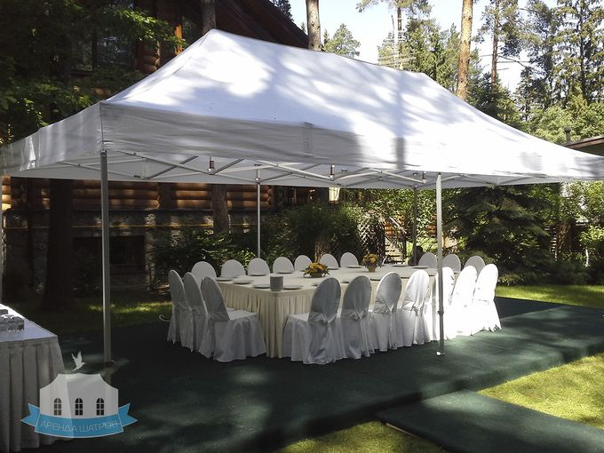 Аренда шатров для свадьбы в Москве.