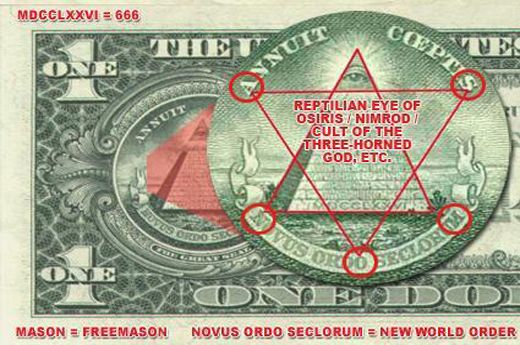 Image result for us dollar masonic symbols