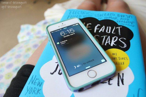 книга, iphone, Джон Грин, Виноваты звезды, качественный Tumblr
