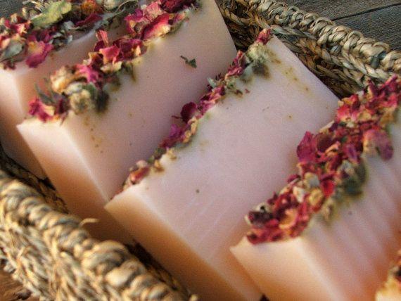 ~ Beautiful - Roses Gypsy Rose Lee Handmade Soap by DirtyDeedsSoaps ~