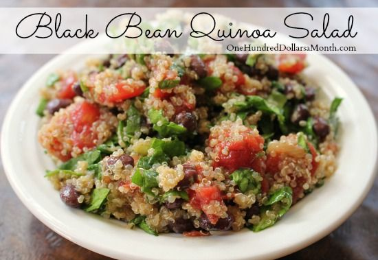 Just another quinoa salad that makes me fall in love with quinoa all over again. Seriously, if you've never cooked/eaten quinoa, let this be the recipe you try it in. You'll be hooked. It's the perfect dish to bring to a luncheon or throw together for a...