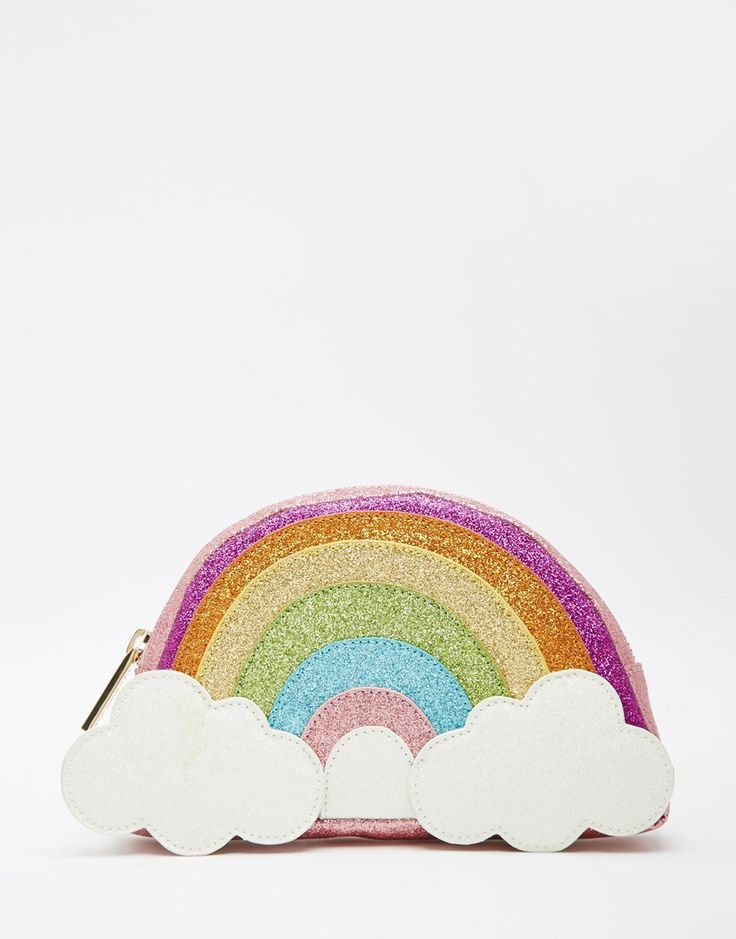 Image 1 of Skinnydip Rainbow Pencil Case