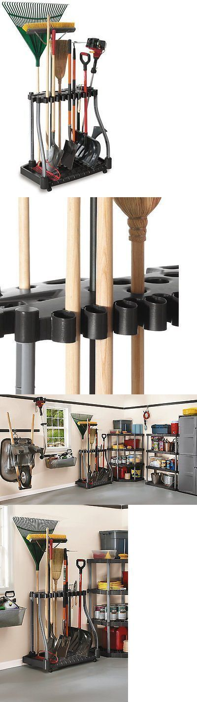 Garden Tool Racks 181011: Rubbermaid Garden Tool Storage Rack Garage Shop Shed Organizer, Holds 40 Tools -> BUY IT NOW ONLY: $52.56 on eBay! http://garageremodelgenius.com/