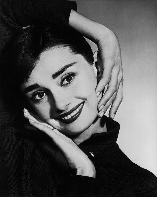 Audrey by Yousuf Karsh,1956