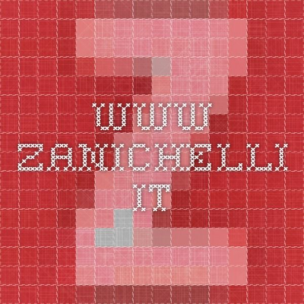 www.zanichelli.it