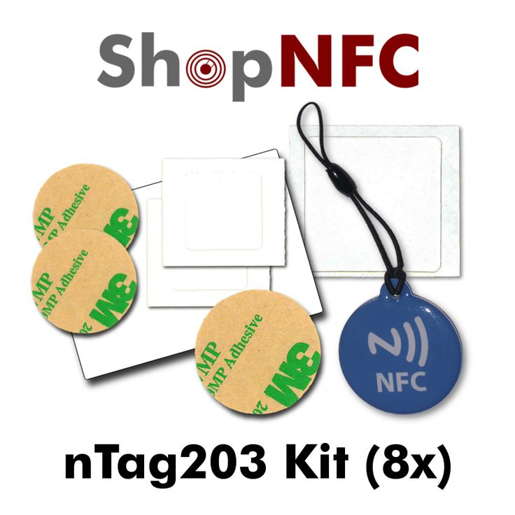 NFC nTag203 Kit http://j.mp/nTagKit