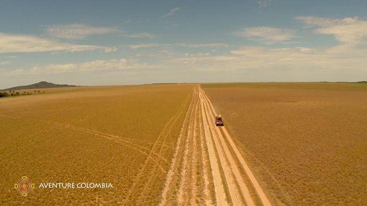PUERTO CARRENO VICHADA Los Llanos de Colombia desde el Aire (Drone, from...