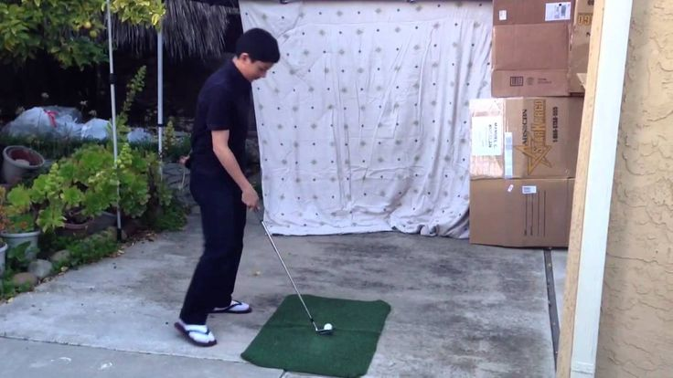 Diy home golf range