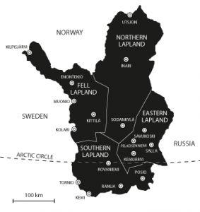 Nature & Areas - Film Lapland