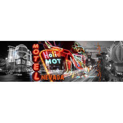 TAF DECOR Vegas Experience 2 Graphic Art on Canvas