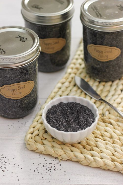 Poppy Seed Filling for Pastries