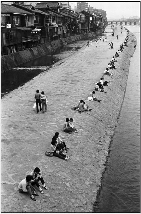 Kyoto, Japan, 1978 by Martine Franck.