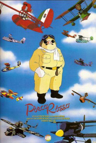 Porco Rosso - Spanish Style ポスター