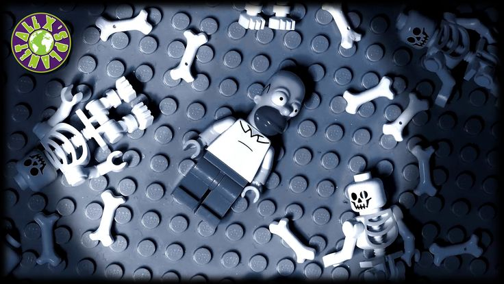 Lego Zombies, Ghosts and Ned Flanders in Homer Simpson Nightmare