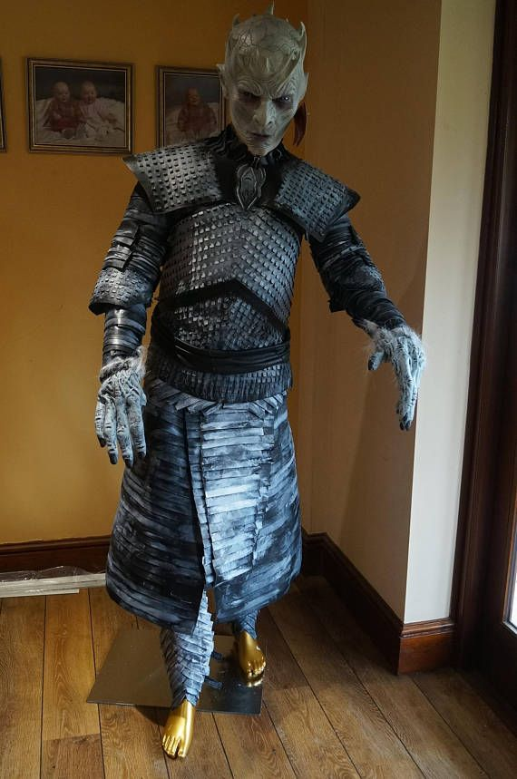 Night King Costume Game of Thrones. All made in 100% Leather