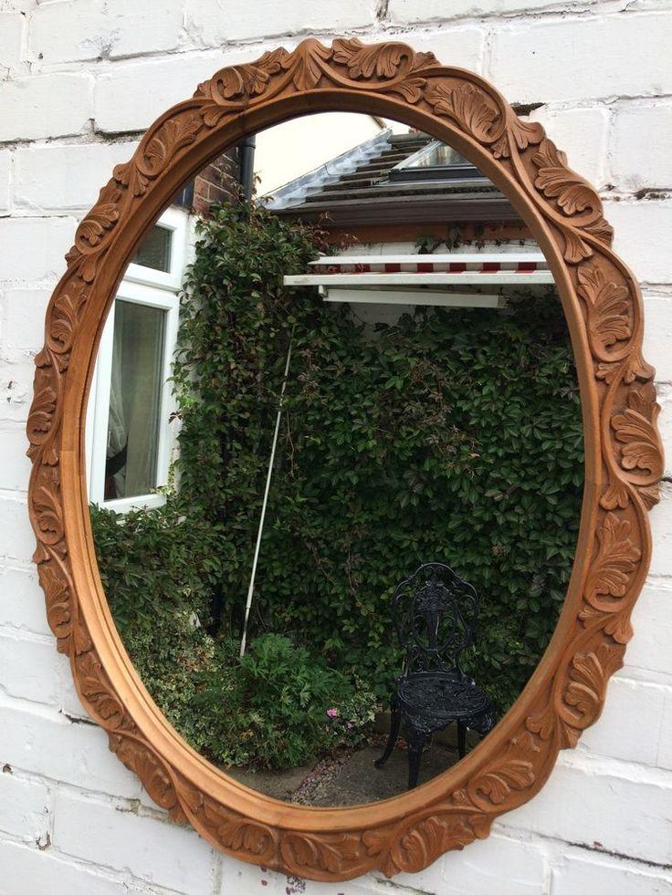 22 Best Carved Wooden Mirror Frame Images On Pinterest