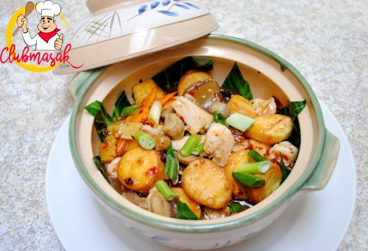 Resep Hidangan Sayuran, Sapo Jamur, Menu Makanan Sehat, Club Masak
