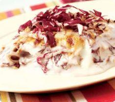 Lasagne con radicchio e besciamella al taleggio - Tutte le ricette dalla A alla Z - Cucina Naturale - Ricette, Menu, Diete