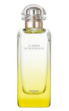 Le Jardin de Monsieur Li by Hermes is a Citrus Aromatic fragrance for women and men. This is a new fragrance. Le Jardin de Monsieur Li was launched in 2015. The nose behind this fragrance is Jean-Claude Ellena. The fragrance features kumquat, jasmine and mint.