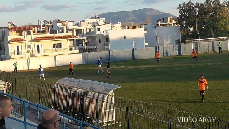 ΑΟ ΚΟΡΩΠΙ  - ΑΟ ΚΟΥΒΑΡΑΣ 2 -0 ΦΑΣΗΣ Α ΗΜΙΧΡ