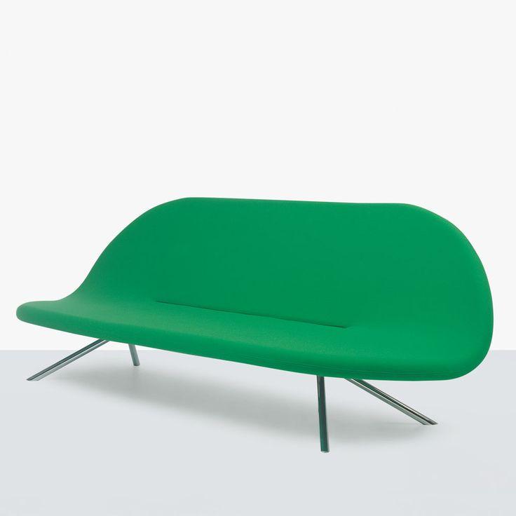 The designer lounge sofa like a gift of nature