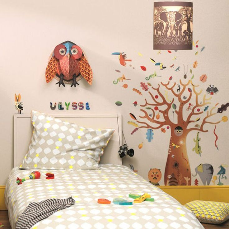 Product Djeco ~ Wall Stickers ~ Baobab TreeProduct code DJ4509Ages 3 yrs+ wall decorations not craft stickers