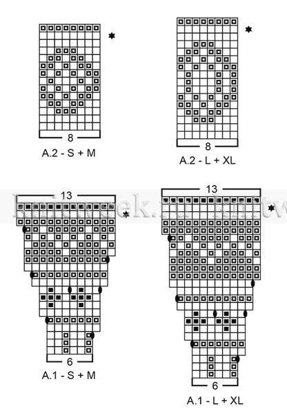 Комплект северная жемчужина - Схема 1