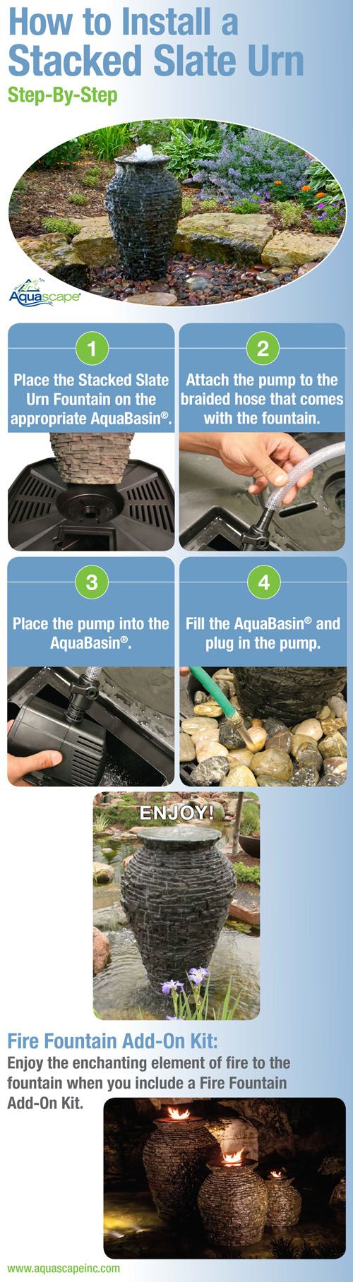 How to Install an Aquascape Fountain