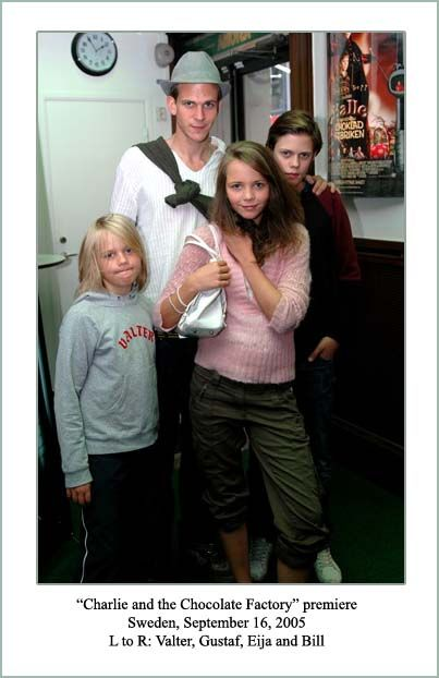 Stellan Skarsgard Family | Great find! Here's a family photo showing four of Stellan's children ...