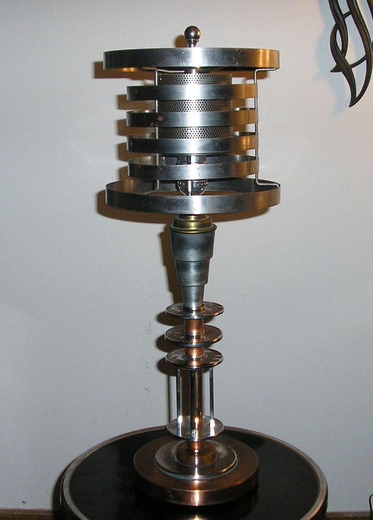 Machine Age/Art Deco Lamp c.1935 by Markel