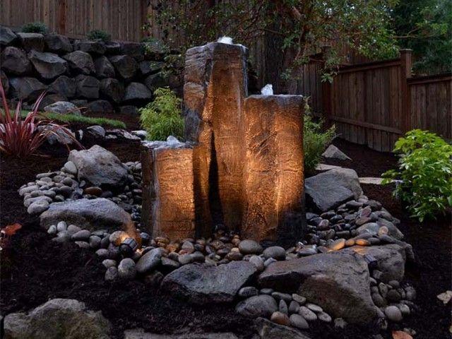best 25+ diy fountain ideas on pinterest | diy waterfall, backyard ... - Patio Water Fountain Ideas