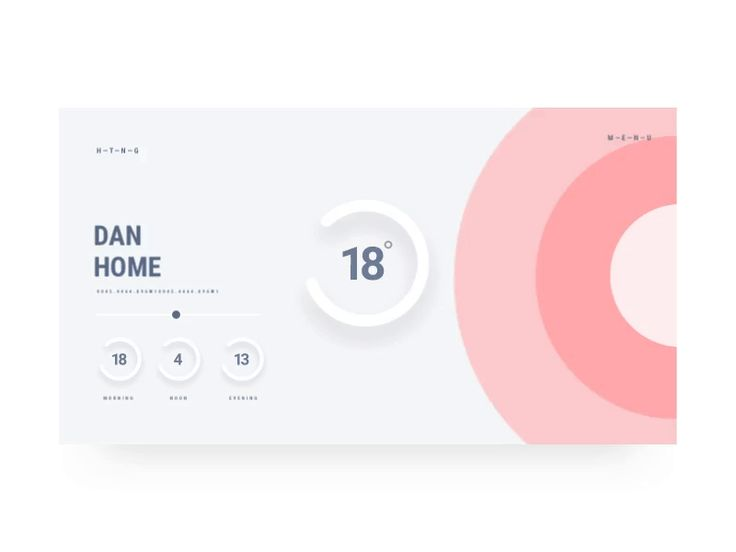 Heating UI  Animation by Daniel Montgomery #Design Popular #Dribbble #shots