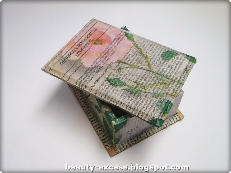 #diy #decoupage #decopatch #reciclaje #recycle
