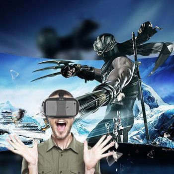 Fiit 2N Virtual Reality 3D Headset - iMax Experience at Home!