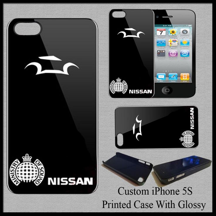New Hot Hard Case Cover For iPhone 5S Nissan Automotive Car Ministry of Sound