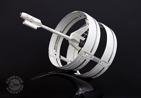 Limited Edition Star Trek Enterprise Ring Ship Artisan Replica