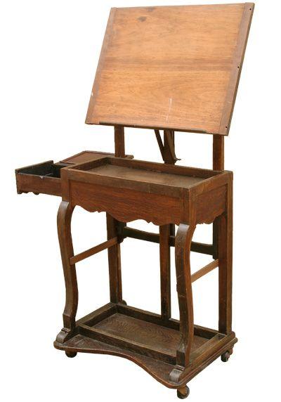 Victorian Oak Table Easel c1900