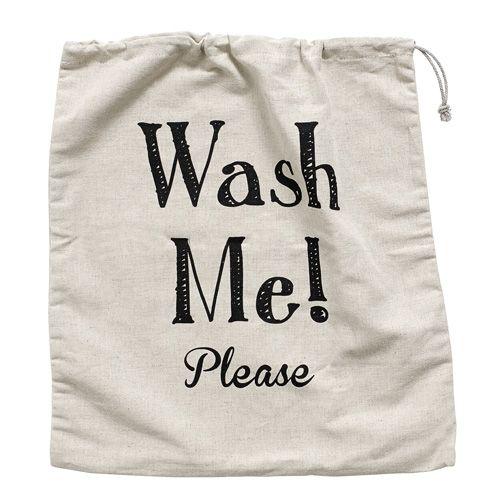 Sac à linge en coton Wash Me ! Nordal