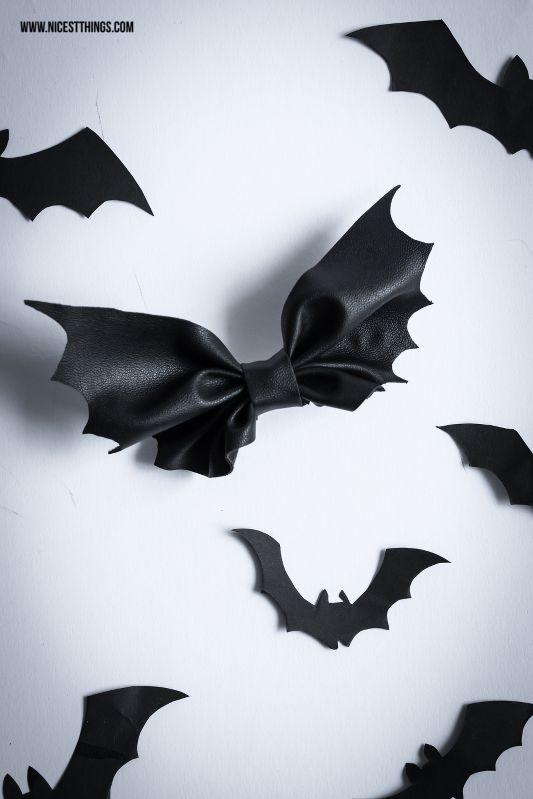 """Заколка """"бантик-летучая мышь"""" (Diy) / Хеллоуин и Маскарадные, карнавальные костюмы своими руками / ВТОРАЯ УЛИЦА"""