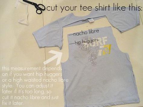 Kinderpyjama-Hosen aus T-Shirts
