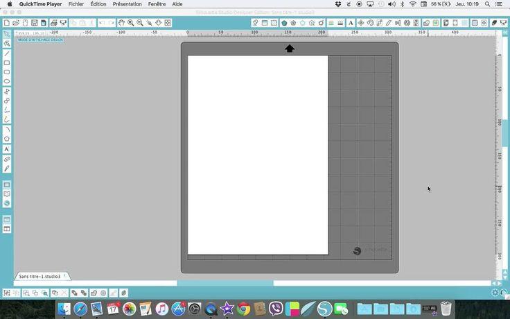 astuces paramètres de page dans Silhouette Studio,pour les débutant(e)s