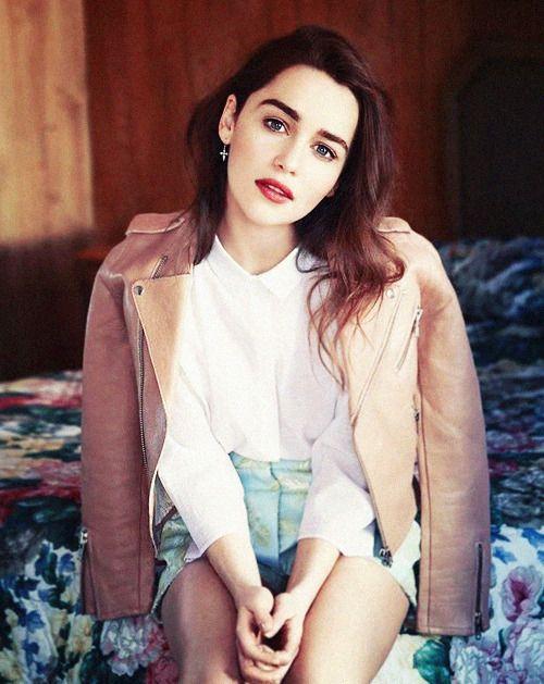 Emilia Clarke | Fashion, Glamour france, Jason kim