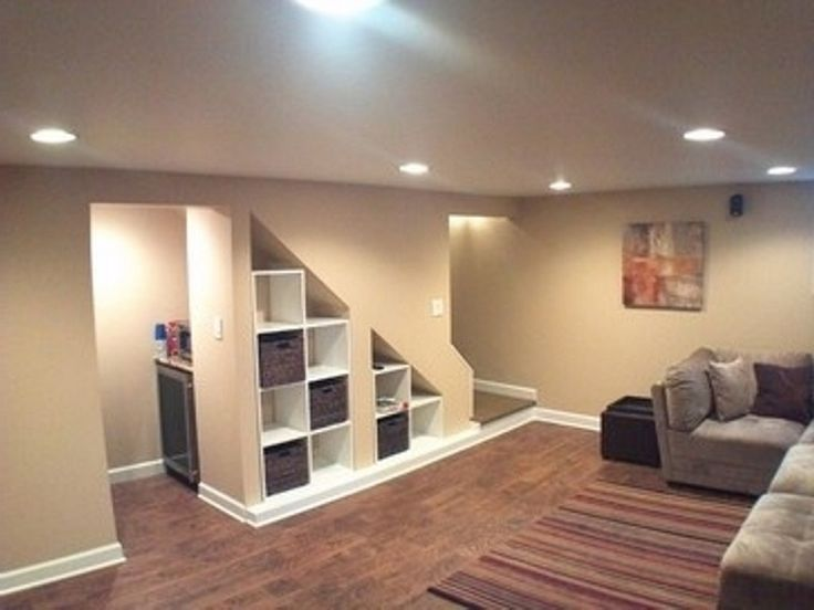 Small Basement Design interior creative basement remodeling with bookshelf under the stairs small basement remodeling ideas and Image Result For Small Basement Ideas On A Budget