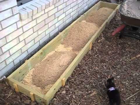 Mittleider Gardening Soil Mix
