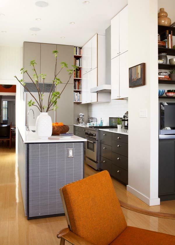 die besten 10+ schwarze kücheninsel ideen auf pinterest | küche ... - Küchenlösungen Für Kleine Küchen