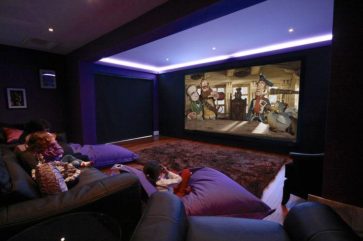 Qu tal una tarde de cine familiar en casa deja que tus - Sala de cine en casa ...