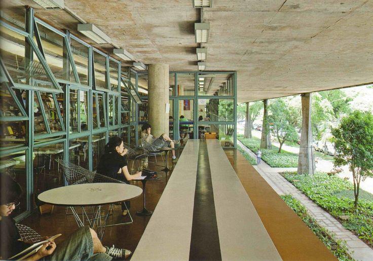 Image on Archisquare • Architettura Design Blog  http://www.archisquare.it/joao-batista-vilanova-artigas-edificio-fau-usp-faculdade-de-arquitetura-e-urbanismo-da-universidade-de-sao-paulo-sao-paulo/